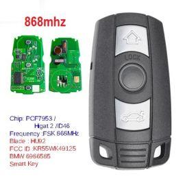 Keyless-Go Smart Remote Car Key 3B 868mhz PCF7953 Chip For BMW CAS 1/3/5 Series X5 X6 2006-2011