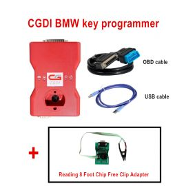 2018 CGDI Prog BMW MSV80 Auto key programmer with eight pin exempt disassembly Adapter