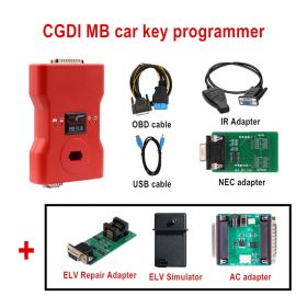 (UK/US ship) CG MB Benz Key Programmer Support All Key Lost Full Package