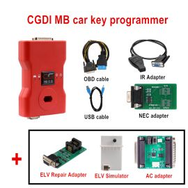 2018 CGDI Prog MB Benz Key Programmer Support All Key Lost Full Package