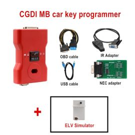DHL Free Shipping CGDI Prog MB Benz Car Key Add Fastest Benz Key Programmer Support All Key Lost