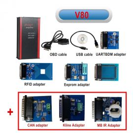 Iprog+ Pro Car Key Programmer Odometer Correction Airbag Reset and ECU Programming Tool Replace Carprog Digiprog3 Tango