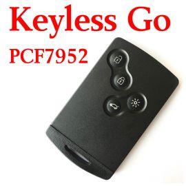 4 Buttons 434 MHz Smart Proximity Card for Renault Koleos Fluence Kongo