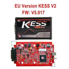 Kess V2 V5.017 EU Version SW V2.47 with Red PCB Online Version Support 140 Protocol No Token Limited