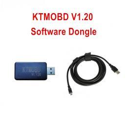 KTMOBD 1.20 Version Software Dongle Supports Toyota Honda Hyundai Kia Ford V-A-G ECUs Read/ Write
