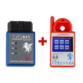 Mini CN900 Plus TOYO Key OBD II Key Pro for 4C 46 4D 48 G H Chips With 24 Tokens