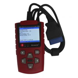 2014 NEW IScancar OBDII EOBD Cars Trouble Codes Scanner (Red) English Edition