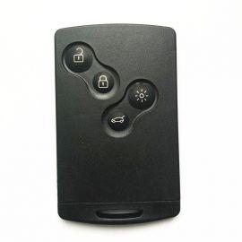 Renault Clio4 Captur 2016 Proximity Smart Card Key 4 Buttons 433MHz AES 4A Transponder
