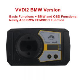 Original Xhorse VVDI2 Key Programmer With Basic, BMW and OBD Functions, Newly Add BMW FEM/BDC Function