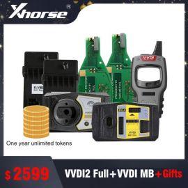 VVDI2 Full version + VDI MB BGA tool with 1 year token