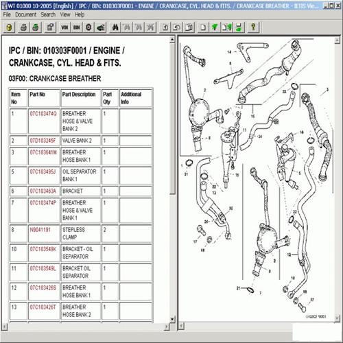 parts catalog bentley on-line