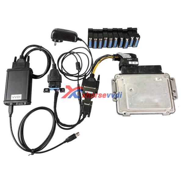 benz-ecu-test-adaptor-connection-1