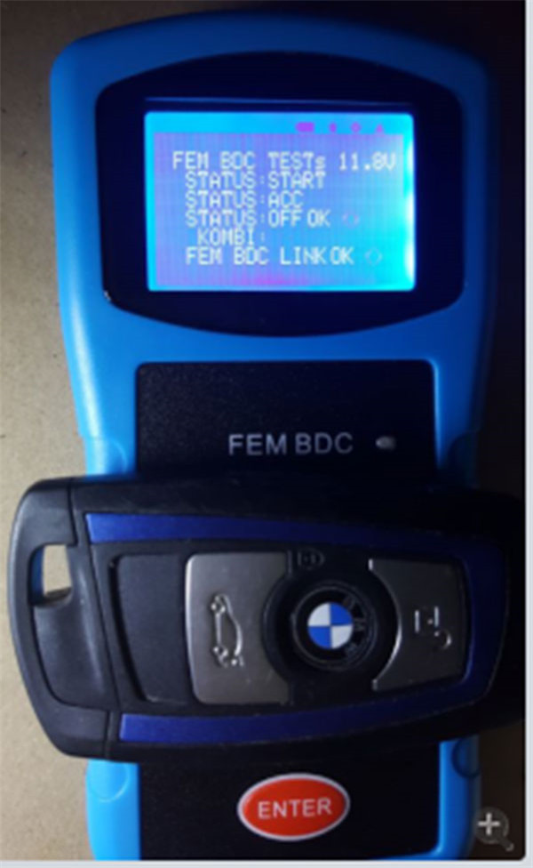 How to use BMW FEM /BDC testing platform-2