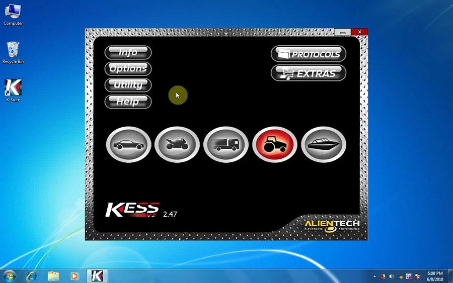 Kess V2 V2.47 Software